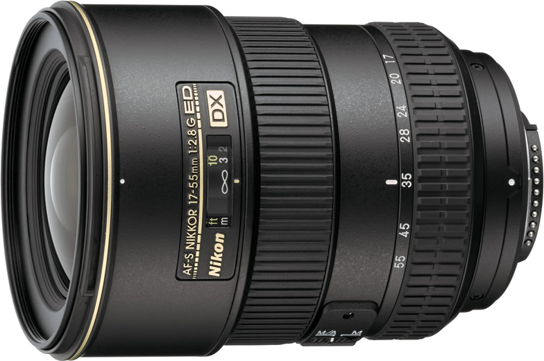 Nikon AF-S 17-55mm f/2.8 G ED-IF DX – 60 RON