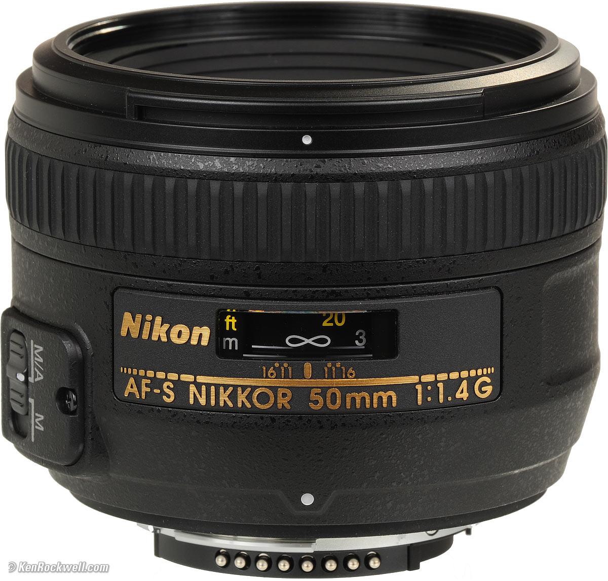 Nikon 50mm f/1.4G AF-S – 40 RON