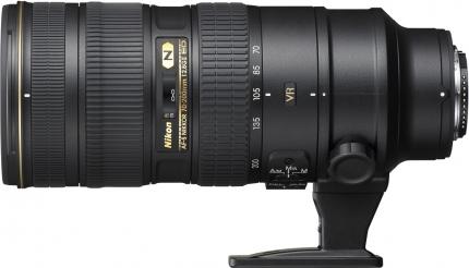 Nikon AF-s 70-200mm f/2.8G ED IF VR II – 80 RON