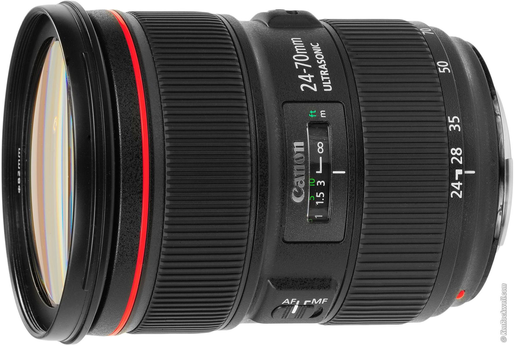 Canon EF 24-70mm f/2.8L II USM – 80 RON