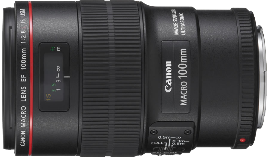 Canon EF 100mm f/2.8L Macro IS USM (1:1) – 60 RON