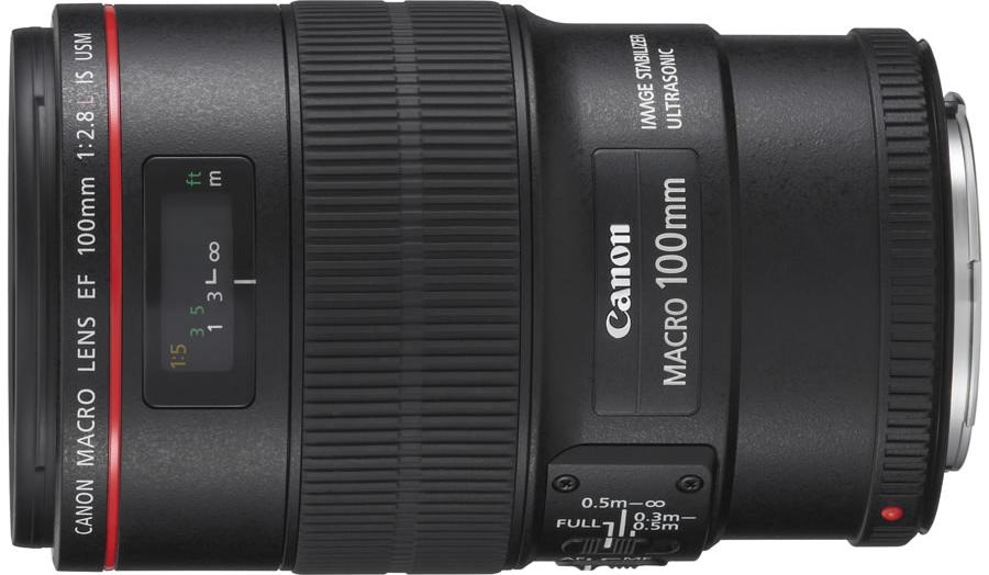 Canon EF 100mm f/2.8L Macro IS USM (1:1) – 70 RON